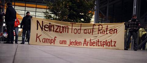 Belegschaftsversammlung Opel