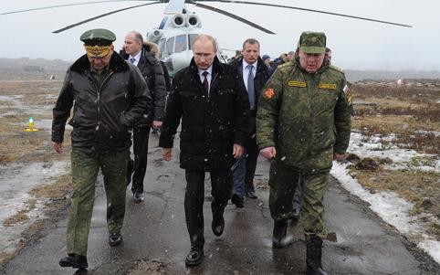 RUSSIA-UKRAINE POLITICS-UNREST-PUTIN