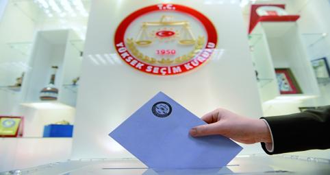 Türkiye'de 52 milyon 695 bin 831 seçmen var