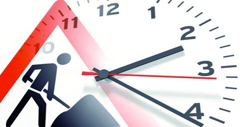 Uhren-Serie: Termindruck