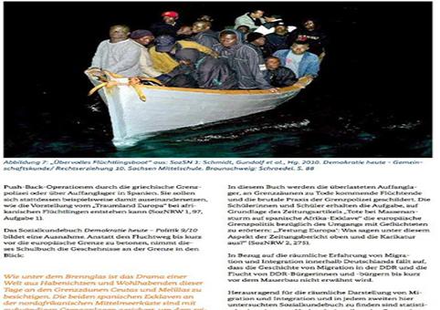 Schulbuch Migration Flüchtlinge und Integration
